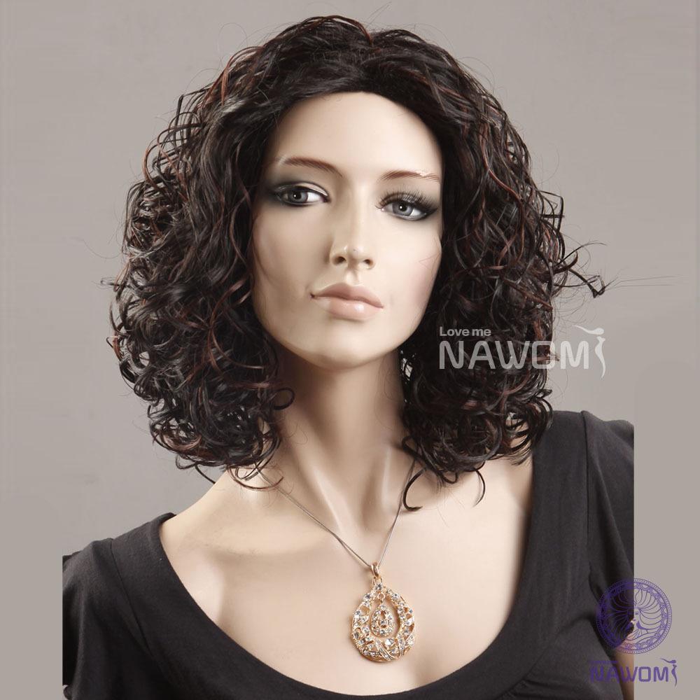Short Dark Brown Curly Hair - Viewing Gallery