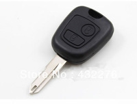 Free shipping 5pcs/lot High Quality Remote Key Shell Case FOB For Peugeot  206