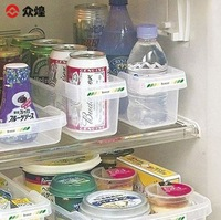 Refrigerator cans plastic storage box finishing box miscellaneously storage box