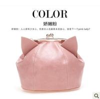 Free shipping 2013 designer shoulder cross-body women's handbag banquet bag personality women's cosmetic beauty bag items CB3