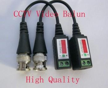 10 Pairs Twisted BNC Video Balun passive Transceivers UTP Balun BNC Cat5 CCTV UTP Video Balun up to 3000ft Range