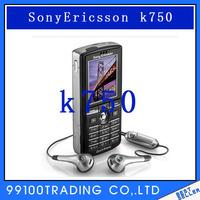 K750i Sony Ericsson K750 Original Unlocked Cell Phone GSM Tri-Band 2MP Camera Bluetooth FM Radio JAVA Free Shipping Refurbished