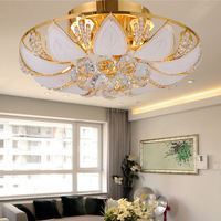 Modern crystal lamp led ceiling light living room lights bedroom lamp lighting lamps