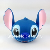 3D Stitch Cartoon Kids Toys Gift Polyrsein Material steal coin piggy bank kitty saving money box / coin bank / money bank