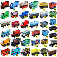Toy wooden 38 full set thomas small train preschool wooden toys puzzle