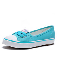 Summer new arrival shallow mouth flat shoes fashion casual female shoes single shoes canvas shoes - 202 99 belle is older