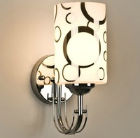 Wall lamp silver bubble ring bed-lighting wall lamp corridor wall lamp