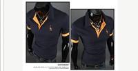 Stylish Slim Short sleeve Casual Shirt T-shirts Tee Tops cool t-shirt cool tees