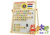 Child multifunctional double faced magnetic drawing board blackboard writing board oversized mount type baby easel