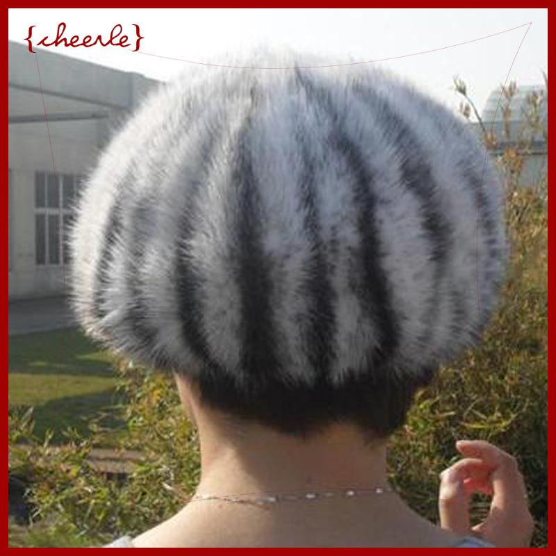 new style pretty lady's fashionable fur headgear mink fur headgear(CHF0009)(China (Mainland))