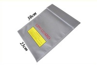 RC Fireproof Lipo Li-Po Battery Safety Guard Charge Bag safe 300 x 230 mm ( 30cm x 23cm) Free shipping wholesale hot sale