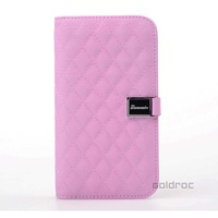 Flip Stand Real Genuine Leather+PC Case Cover  For Samsung Galaxy SIII S3 i9300 With Wallet Card Function Free Shipping