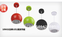 Led restaurant lights pendant light bar lamp pendant lamp restaurant lamp bar lights modern brief multicolour shell  for apple