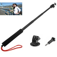 Extendable Handheld Telescopic Monopod Holder Wand +Tripod +Screw for Gopro Hero3 2