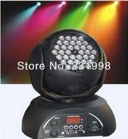 2pcs/lot,Free shipping,36pcs*3W led moving head wash light dj RGB Color lamp,DMX 512 stage dj party strobe led moving head light