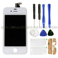 Best Price Complete OEM LCD For iPhone 4s LCD Complete Touch Screen With Frame Free Shipping