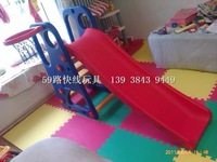 Happy slide home indoor plastic slide multifunctional swing combination