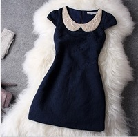 2013 women's autumn elegant formal dress a slim one-piece dress