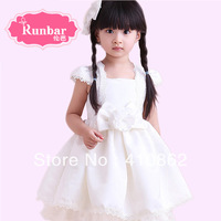 princess wedding dress puff skirt flower girl child female formal dress princess dress FLOWER GIRL DRESS Children dress