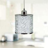 T modern brief single-head entrance lighting bar dining room pendant light acrylic carved hallway lights