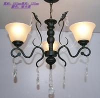 Fashion tieyi 3 pendant light classical dining room lamp art lamp rustic d3027