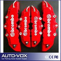 4pcs/lot Car Brake Caliper Front Rear 3D Brembo Disc Brake Caliper Covers Case 5 Colors Free Shipping
