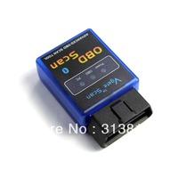 New 5pcs/lot,wholesale,ELM327 V1.5 Mini Bluetooth ELM 327 OBDII OBD-II OBD2 Protocols Auto Diagnostic Scanner Free shipping