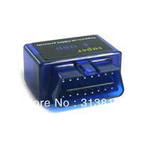5Pcs/lot Free Shipping Dropshipping Super Mini ELM327 V1.5 Bluetooth OBD2 OBD-II Car Auto Diagnostic Scanner Tool
