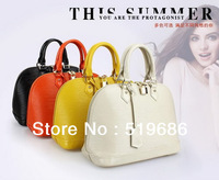 Hot Sell Cowhide Leather Candy colored Women handbags With Strap Size:W30.2xH24xD17.5cm