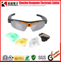 free shipping Sunglasses DVR Eyewear hidden camera New H.264