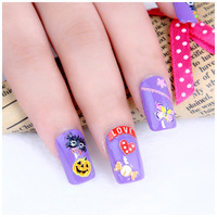 Nail art supplies applique diy nail polish oil decoration cartoon 3d three-dimensional nail art adhesive