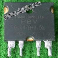 Precision power resistor 0.047 base plate radiator