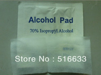 High quality Alcohol Prep Pad Alcohol Pad alcohol swab 70% Isopropyl antiseptic swab/makup alcohol pad(200pcs/lot) Freeshipping