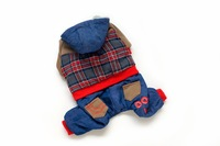 Free Shipping!  Fashion Jeans Pet clothes with Warm Wooly inside,A3031