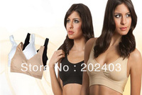 Women Sexy Seamless Removable Padded Sport Bra Top Vest