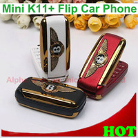 Free Shipping K11+ Bentley phone with Colorful Flash Lights Single SIM Card Mini Phone K11+ Camera Bluetooth MP3 MP4 FM
