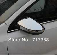 Free Shipping 2012-2013 Volkswagen VW Jetta/Sagitar ABS Chrome Rearview mirror cover Trim/Rearview mirror Decoration