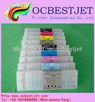 Refill Inkjet Printer Cartridge for Epson 7890 9890 7908 9908 with Resettable Chips