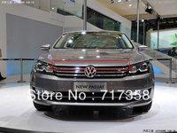 Free Shipping 2011 Volkswagen PASSAT B7 ABS Chrome Front Grille Around Trim Racing Grills Trim