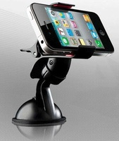 Wholesales! Car Universal Holder Mount Stand for mobile phone/GPS/MP4 Rotating 360 Degree support free shipping