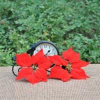DIY 22cm Diameter Christmas Flower Heads Artificial Wedding Decoration Free Shipping(100pcs/lot)