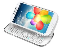 For Samsung Galaxy S4 i9500 Wireless Bluetooth Slide Keyboard Stand Cover Case,1pcs/lot,Free shipping