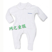 Brand BONDS100% Cotton Boby Clothing For Boys And Girls White Towel Romper Cute Little Lapel Pin Package Design Leotard