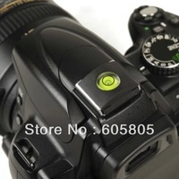 Free shipping 20pcs New Flash Hot Shoe Cover Cap Bubble Spirit Level For Canon Nikon Olympus DSLR