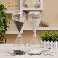 Hourglass glass hourglass timer birthday married teacher's day gift fashion