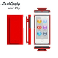 New Arrival!! 1pcs/lot,Clip style plastic material Cover Case For Apple iPod Nano 7 7th + Free shipping,D0157