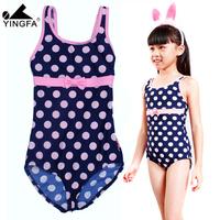 Ying fat 2013 fashion child large female child one piece swimwear y037