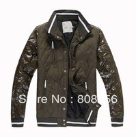 Free shipping!2013 Men's coat Winter Hoodies Hooded Outwear, Down jacket,down parkas wholesale 2Colors