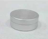 25ml aluminum jar, cosmetic container,DIY cream cans
