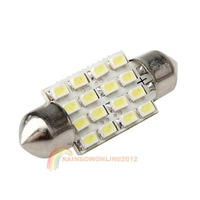 R1B1 New Festoon Lantern 1206 16SMD 36MM Power Trunk Light Automotive Lighting
